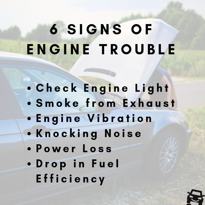 Engine Repair: 6 Signs You Need It